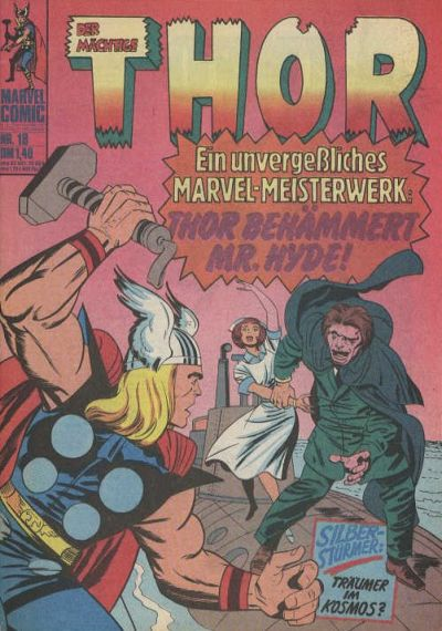 Cover for Thor (BSV - Williams, 1974 series) #18