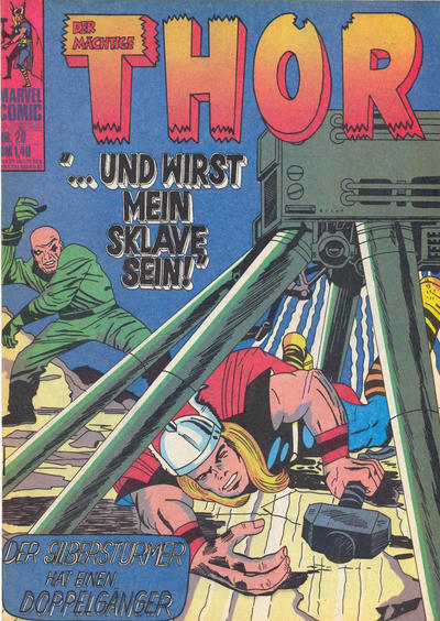 Cover for Thor (BSV - Williams, 1974 series) #20