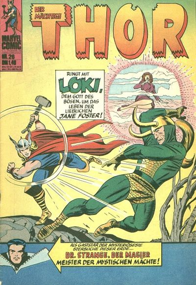 Cover for Thor (BSV - Williams, 1974 series) #26