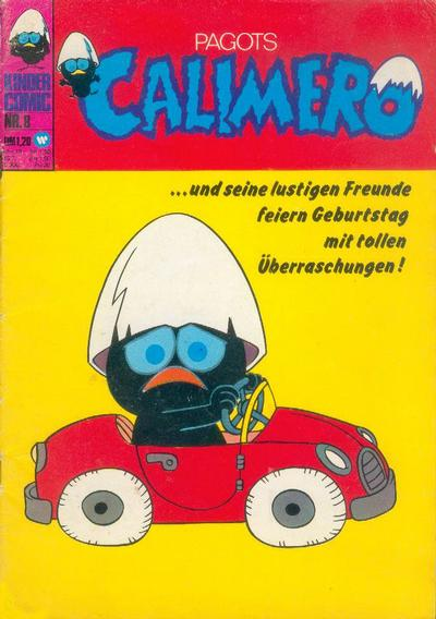 Cover for Calimero (BSV - Williams, 1973 series) #8
