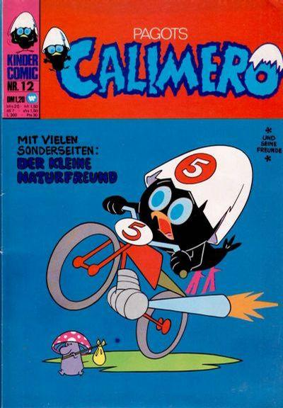 Cover for Calimero (BSV - Williams, 1973 series) #12