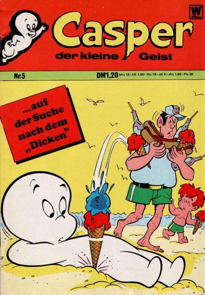 Cover for Casper der kleine Geist (BSV - Williams, 1973 series) #5