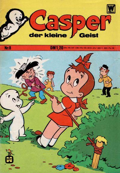 Cover for Casper der kleine Geist (BSV - Williams, 1973 series) #8