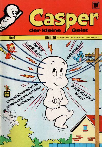 Cover for Casper der kleine Geist (BSV - Williams, 1973 series) #9