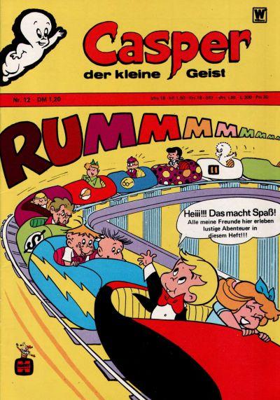 Cover for Casper der kleine Geist (BSV - Williams, 1973 series) #12