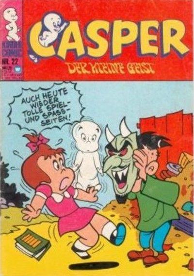 Cover for Casper der kleine Geist (BSV - Williams, 1973 series) #22