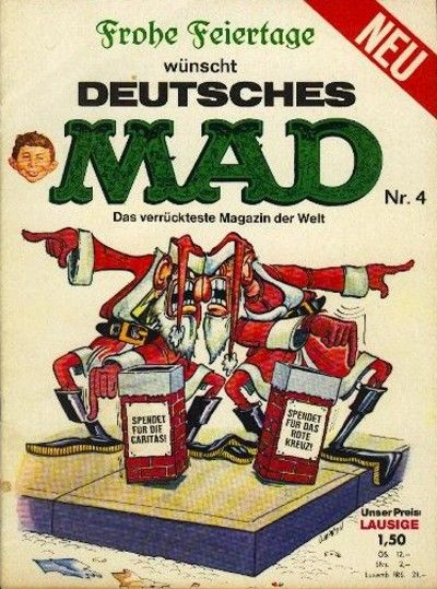 Cover for Mad (BSV - Williams, 1967 series) #4