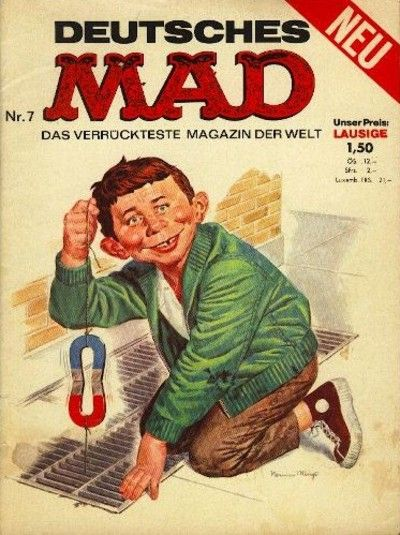 Cover for Mad (BSV - Williams, 1967 series) #7