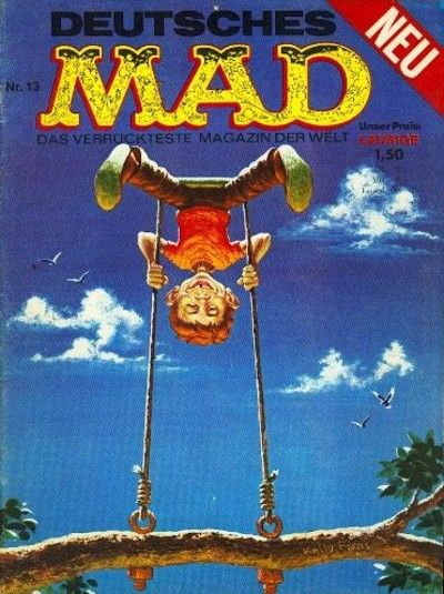 Cover for Mad (BSV - Williams, 1967 series) #13