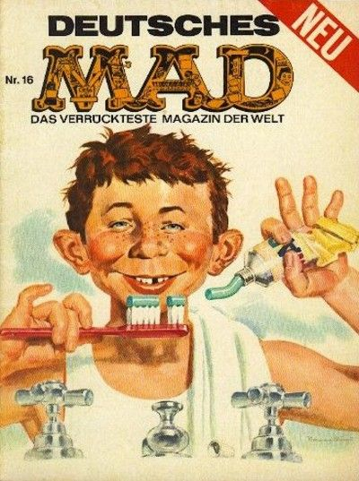 Cover for Mad (BSV - Williams, 1967 series) #16