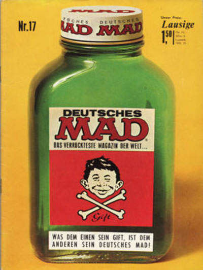 Cover for Mad (BSV - Williams, 1967 series) #17