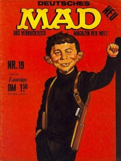 Cover for Mad (BSV - Williams, 1967 series) #19