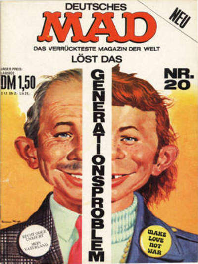 Cover for Mad (BSV - Williams, 1967 series) #20