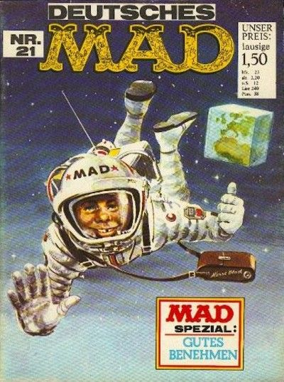 Cover for Mad (BSV - Williams, 1967 series) #21