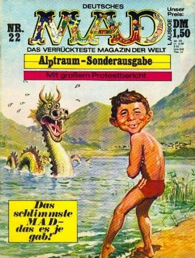 Cover for Mad (BSV - Williams, 1967 series) #22