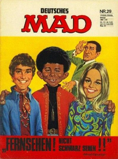 Cover for Mad (BSV - Williams, 1967 series) #29