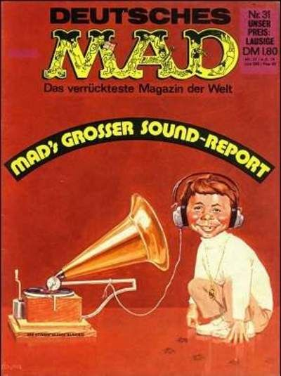 Cover for Mad (BSV - Williams, 1967 series) #31