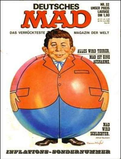 Cover for Mad (BSV - Williams, 1967 series) #32
