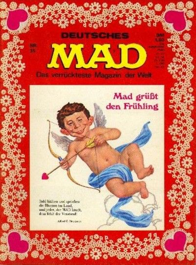 Cover for Mad (BSV - Williams, 1967 series) #35