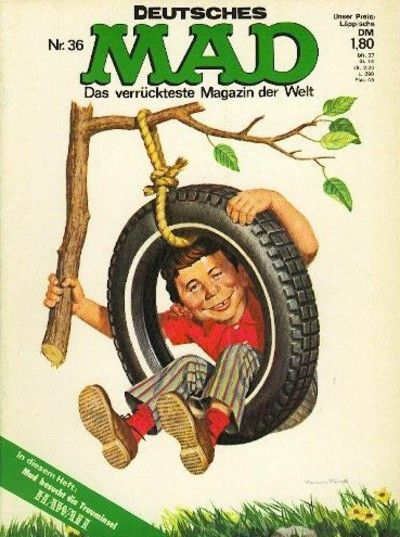 Cover for Mad (BSV - Williams, 1967 series) #36