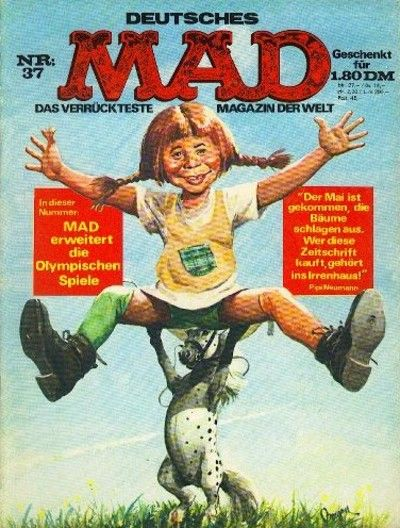 Cover for Mad (BSV - Williams, 1967 series) #37