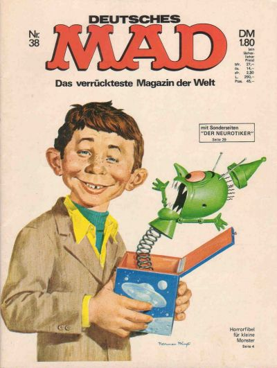 Cover for Mad (BSV - Williams, 1967 series) #38