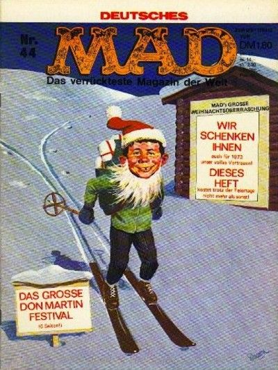 Cover for Mad (BSV - Williams, 1967 series) #44