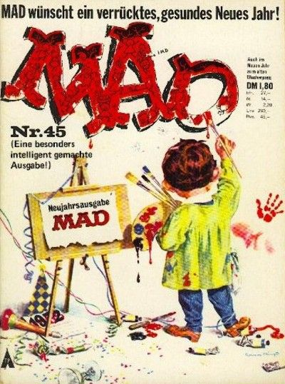 Cover for Mad (BSV - Williams, 1967 series) #45
