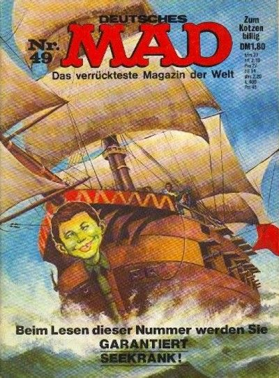 Cover for Mad (BSV - Williams, 1967 series) #49
