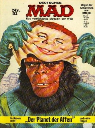 Cover for Mad (BSV - Williams, 1967 series) #51