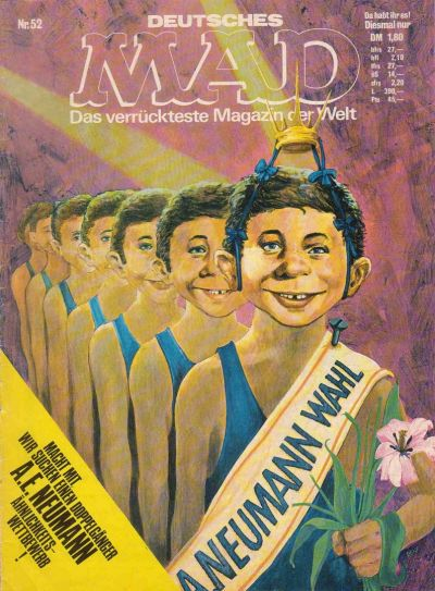 Cover for Mad (BSV - Williams, 1967 series) #52