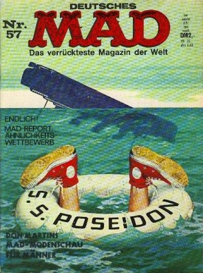 Cover for Mad (BSV - Williams, 1967 series) #57