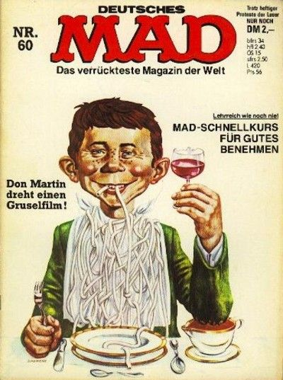 Cover for Mad (BSV - Williams, 1967 series) #60