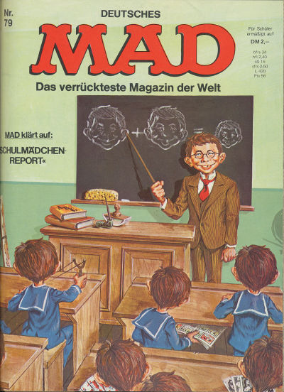 Cover for Mad (BSV - Williams, 1967 series) #79