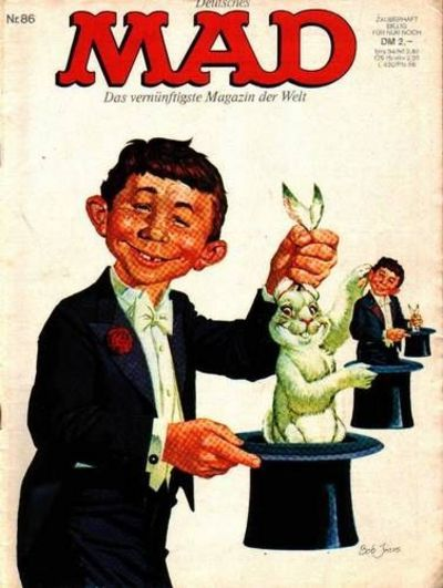 Cover for Mad (BSV - Williams, 1967 series) #86
