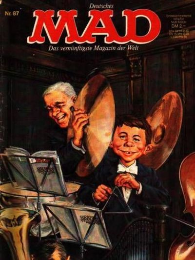 Cover for Mad (BSV - Williams, 1967 series) #87