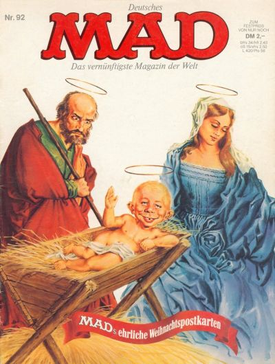 Cover for Mad (BSV - Williams, 1967 series) #92