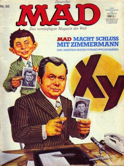 Cover for Mad (BSV - Williams, 1967 series) #95