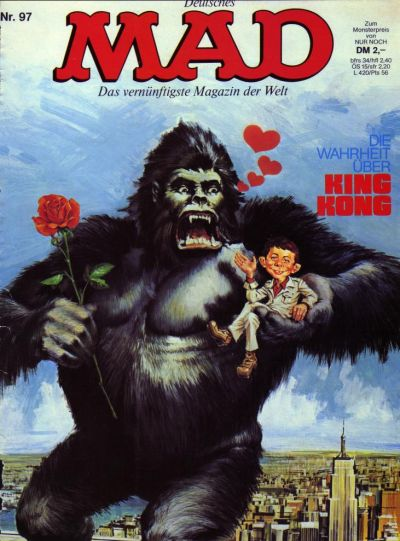 Cover for Mad (BSV - Williams, 1967 series) #97