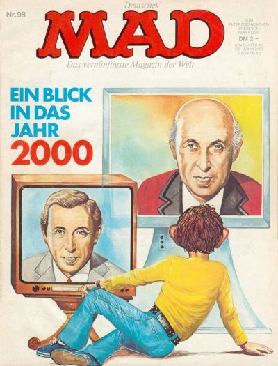 Cover for Mad (BSV - Williams, 1967 series) #98