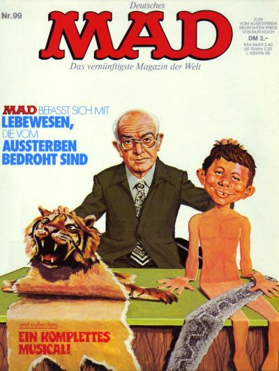 Cover for Mad (BSV - Williams, 1967 series) #99