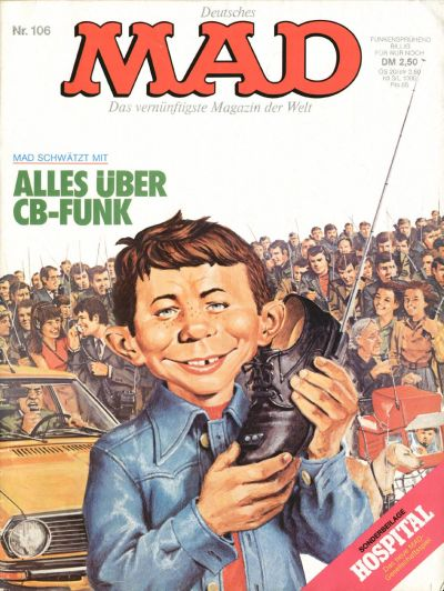 Cover for Mad (BSV - Williams, 1967 series) #106