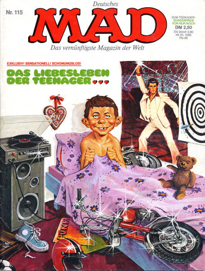 Cover for Mad (BSV - Williams, 1967 series) #115