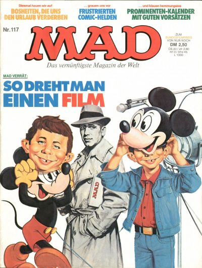 Cover for Mad (BSV - Williams, 1967 series) #117