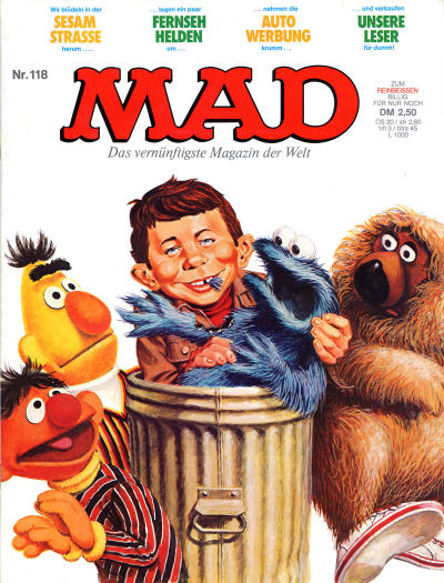 Cover for Mad (BSV - Williams, 1967 series) #118