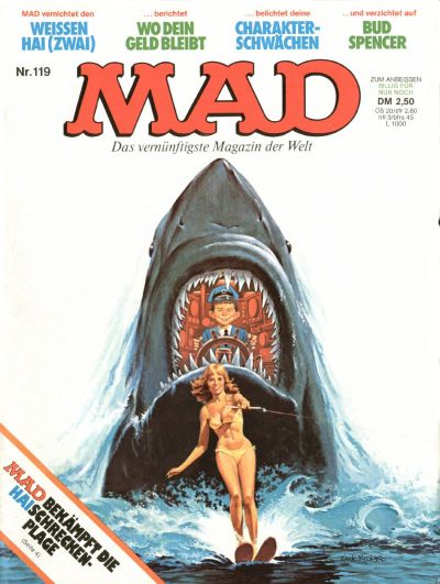 Cover for Mad (BSV - Williams, 1967 series) #119