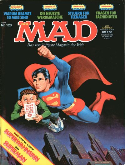 Cover for Mad (BSV - Williams, 1967 series) #123