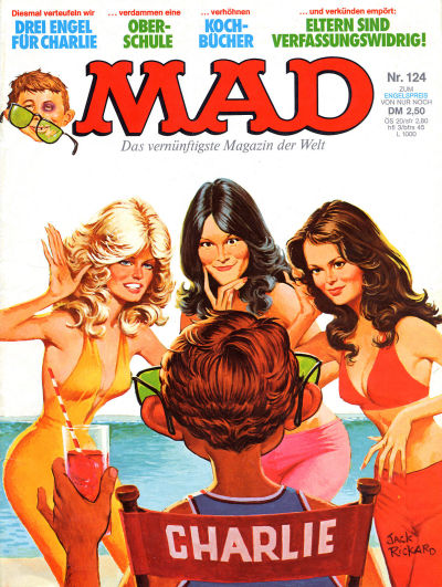 Cover for Mad (BSV - Williams, 1967 series) #124