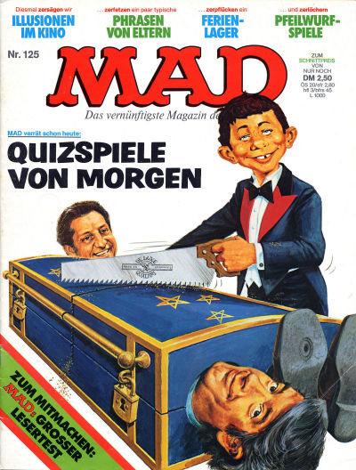 Cover for Mad (BSV - Williams, 1967 series) #125
