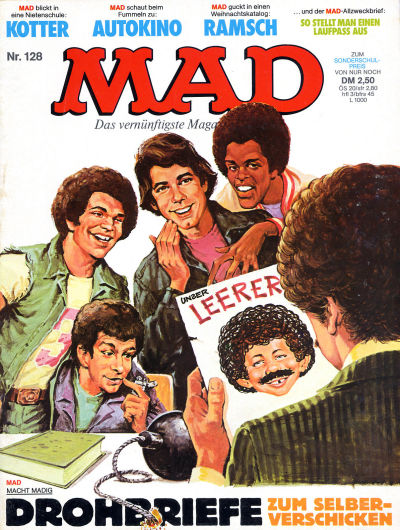 Cover for Mad (BSV - Williams, 1967 series) #128